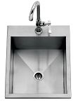 Delta Heat 15 Inch Drop-In Sink