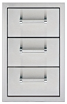 Delta Heat 13 Inch Triple Storage Drawers