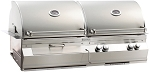 Fire Magic Aurora A830i Propane Gas and Charcoal Combo Grill