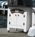 Forno de Pizza Closed Cabinet