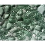 Green fire glass