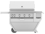 Hestan 42 Inch Natural Gas Deluxe Grill with Worktop, 3 Trellis Burner 1 Sear Burner