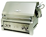 Luxor 30 Inch Natural Gas Grill with 1 IR Burner, 1 IR Back Burner, Rotisserie and Light