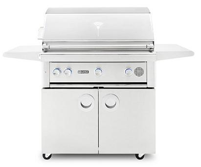 Lynx 36 Inch Smart Grill on Cart - LP