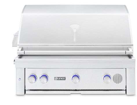Lynx 36 Inch Built In Smart Grill - NG
