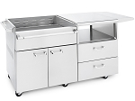 Lynx 54 Inch Mobile Kitchen Cart