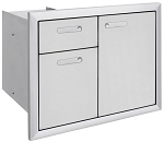 Lynx Ventana Series Trash Drawers Combo Unit