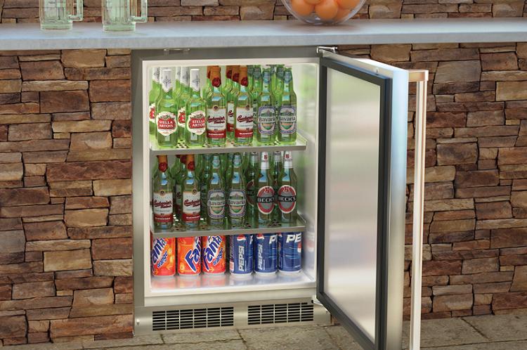Marvel 24 Inch Outdoor Refrigerator