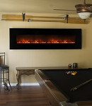 Modern Flames 95 Inch Wall Mount Linear Electric Fireplace