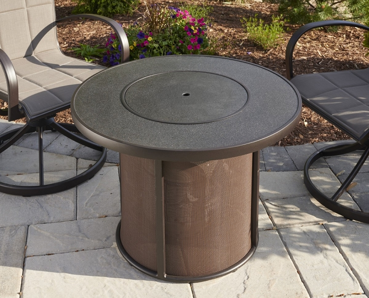 Stonefire 32 Inch Fire Pit Table W Burner Cover