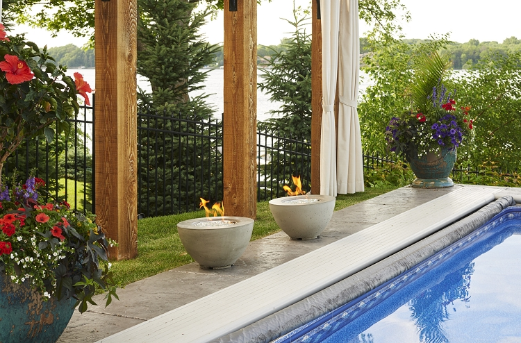 Cove 30 inch fire bowl for Great outdoor room company