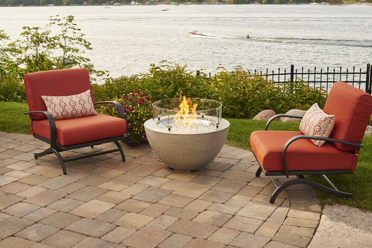 Cove 20 inch fire bowl for Great outdoor room company