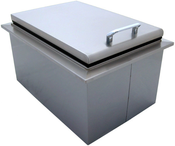 bbq island 15 x 24 inch drop in cooler 260 series