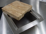 BBQ Island Cutting Board and Trash Chute - 260 Series