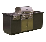 SABER EZ Outdoor Kitchen - I Series, Silver