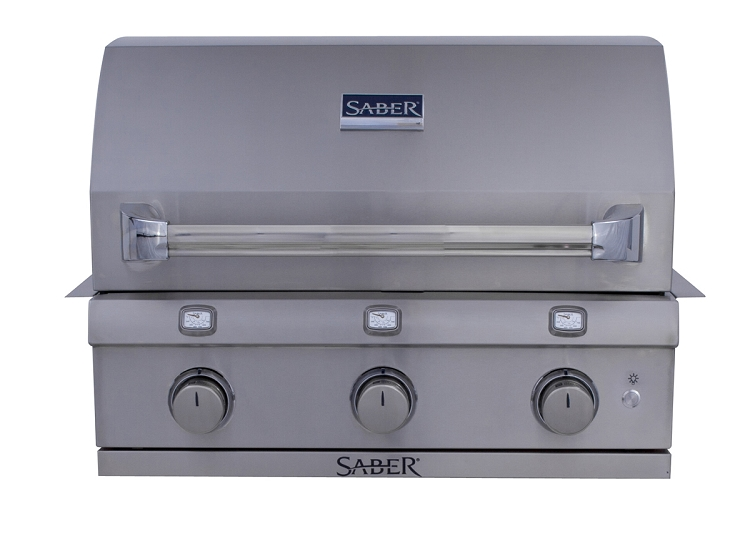 Saber 500 Natural Gas Built-In Grill