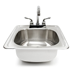 Summerset 15 Inch Sink and Faucet