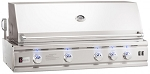 Summerset 44 Inch Deluxe Natural Gas Grill w/Rotisserie and Lights