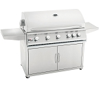 Summerset Sizzler 40 Inch Natural Gas Grill on Cart w/Rotisserie
