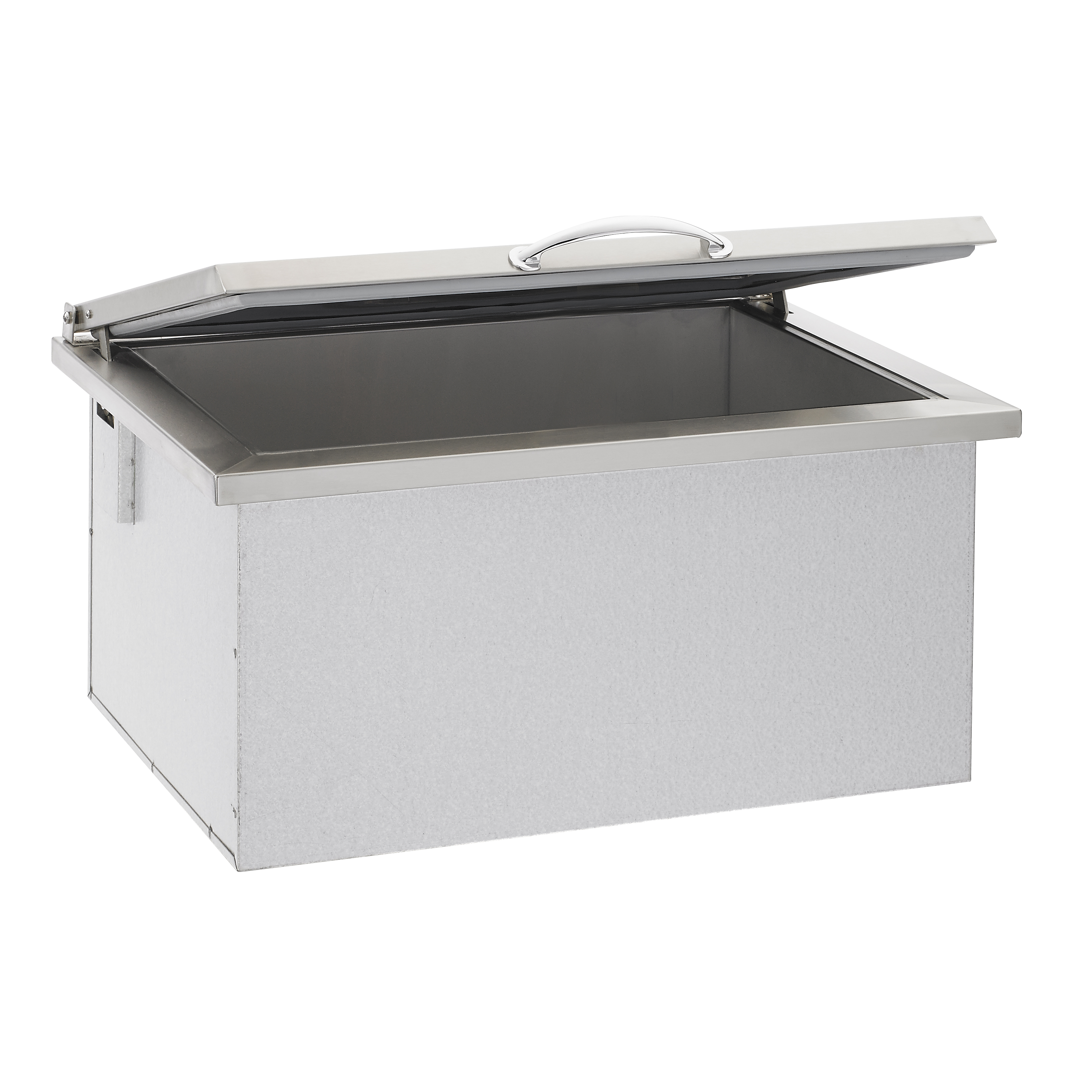 Summerset drop in ice chest for Drop in cooler for outdoor kitchen