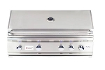 Summerset TRL 38 Inch Natural Gas Grill w/Rotisserie and Lights