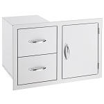 Summerset 2 Drawer/ Door Combo Unit