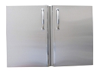 Sunstone 30 Inch Double Access Door with Shelves