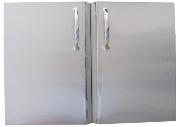 Sunstone 42 Inch Double Access Door with Shelves