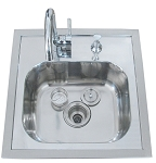 Sunstone Drop In Sink W/ Faucet & Cutting Board