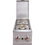 Sunstone Slide-In Double Side Burner - Propane