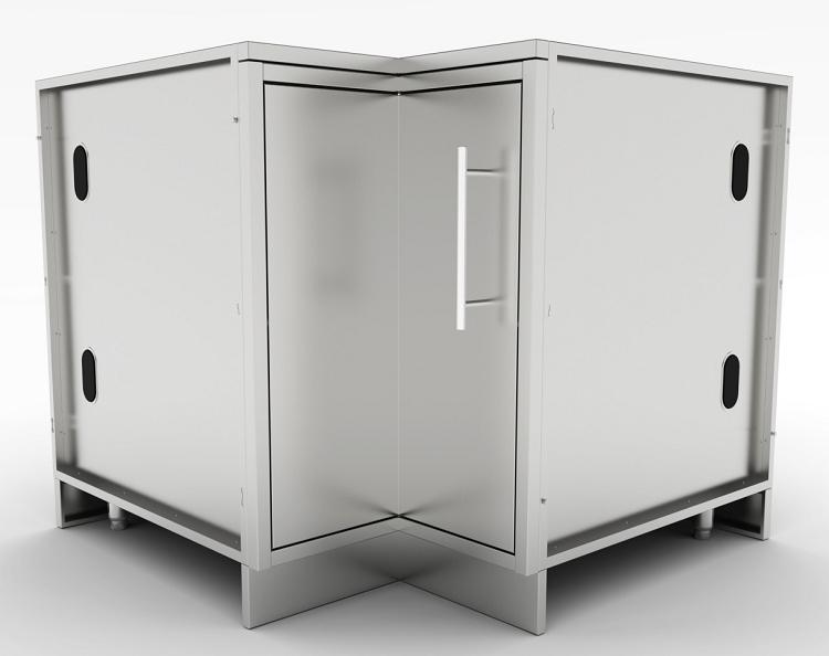 Sunstone 12 Quot X12 Quot Corner Cabinet With Swivel Shelves