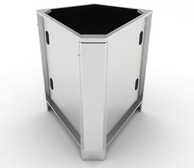 Sunstone 30 Degree Corner Cabinet W Utility Access