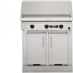 TEC 36 Inch Sterling II Propane Gas Grill on Cabinet
