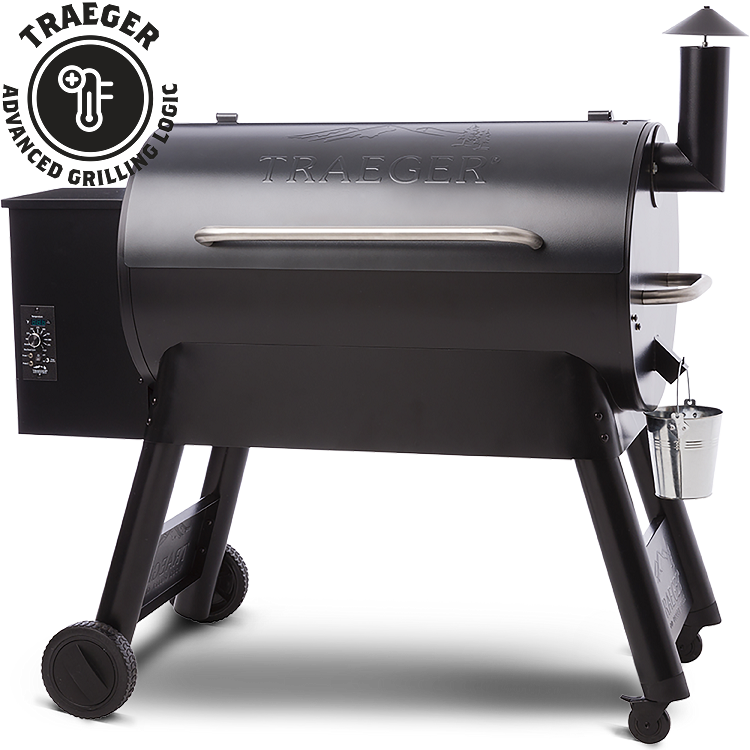 Traeger Pro Series 34 Pellet Grill Gunmetal Blue