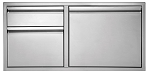 Twin Eagles 42 Inch 2 Drawer Door Combo
