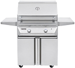 Twin Eagles 30 Inch Natural Gas Grill with Rotisserie on Cart