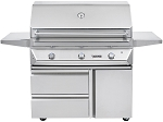 Twin Eagles 42 Inch Natural Gas Grill on Cart