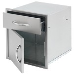 Cal Flame 18 Inch Door and Drawer Combo