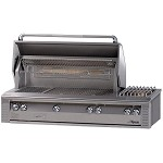 Alfresco 56 Inch Grill with Side Burner - LP