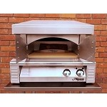 Alfresco 30-inch Natural Gas Pizza Oven Plus