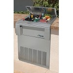 Alfresco Countertop Drop-in Refrigerator