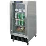 Cal Flame Outdoor Stainless Steel Beverage Cooler