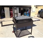 Westcott 36 Inch Santa Maria Grill on Cart