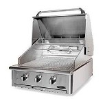 Capital Precision Series 30 Inch Natural Gas Grill with Rotisserie