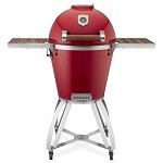 Caliber Thermashell Pro Terra Cotta Charcoal Grill w/ Wood Handle