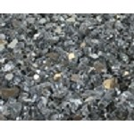 Gray Reflective Fire Glass 1/4 Inch - 10 lbs