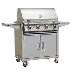 Bull Lonestar Select Grill on Cart - LP