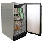 Cal Flame Stainless Steel Outdoor Refrigerator
