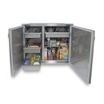 Alfresco 42-inch Dry Storage Pantry - High Profile Unit