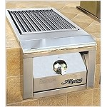 Alfresco 14-inch Standalone SearZone Natural Gas Side Burner